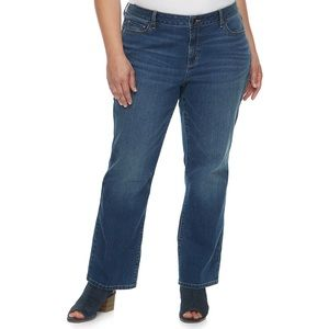 Sonoma Jeans - Sonoma Curvy Bootcut Jeans